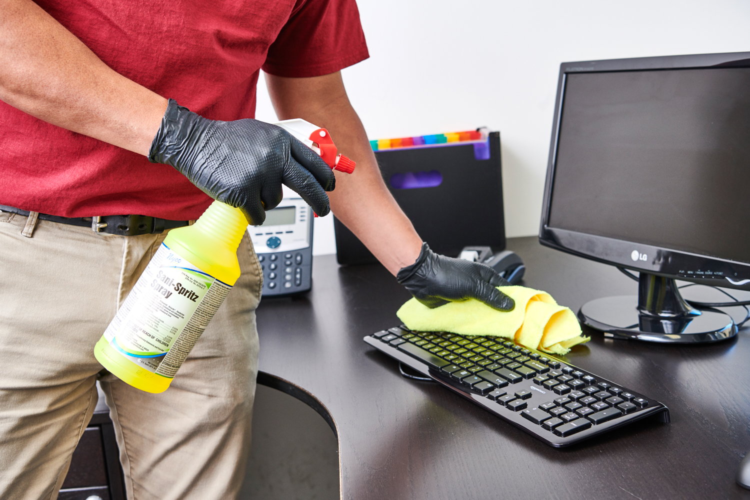 Sanitizing Your Office Desk