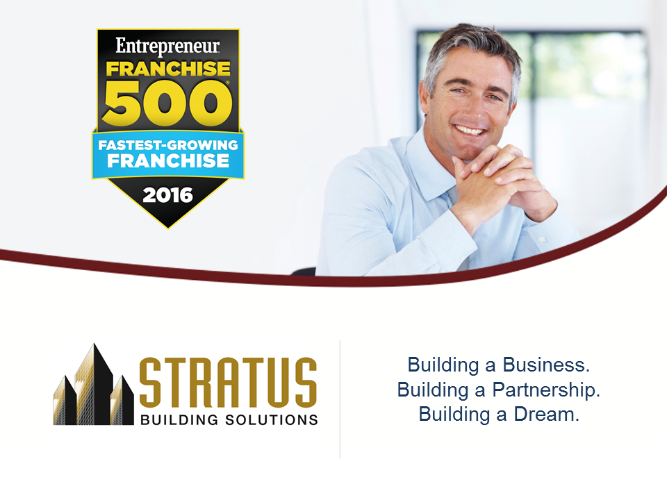 Stratus Building Solutions Award Winning Franchise