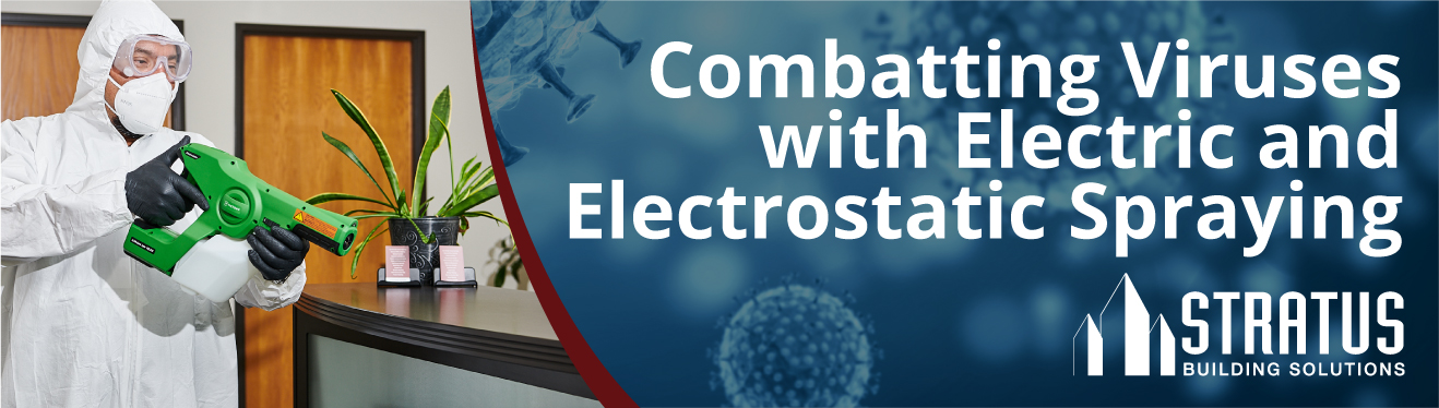 Electrostatic disinfecting services